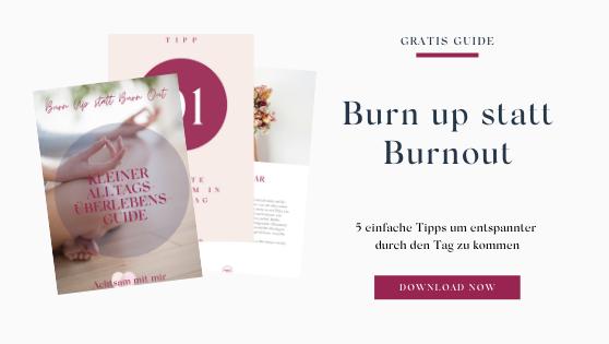 Tagesüberlebensguide freebie gratis guide entspannt stress burnout überarbeitet
